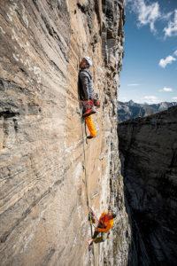 Alnasca climbing. (PPR/Mammut)