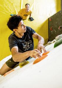 Alnasca climbing gym. (PPR/Mammut)